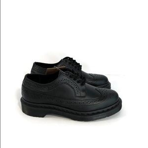 Dr Martens 3989 Leather Oxford Smooth Black